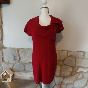 Maurice's Cowl Neck Sweater Dress L